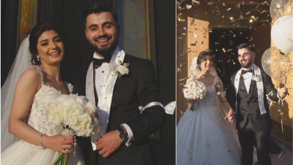 Lara Alber och Zaed Hadood
