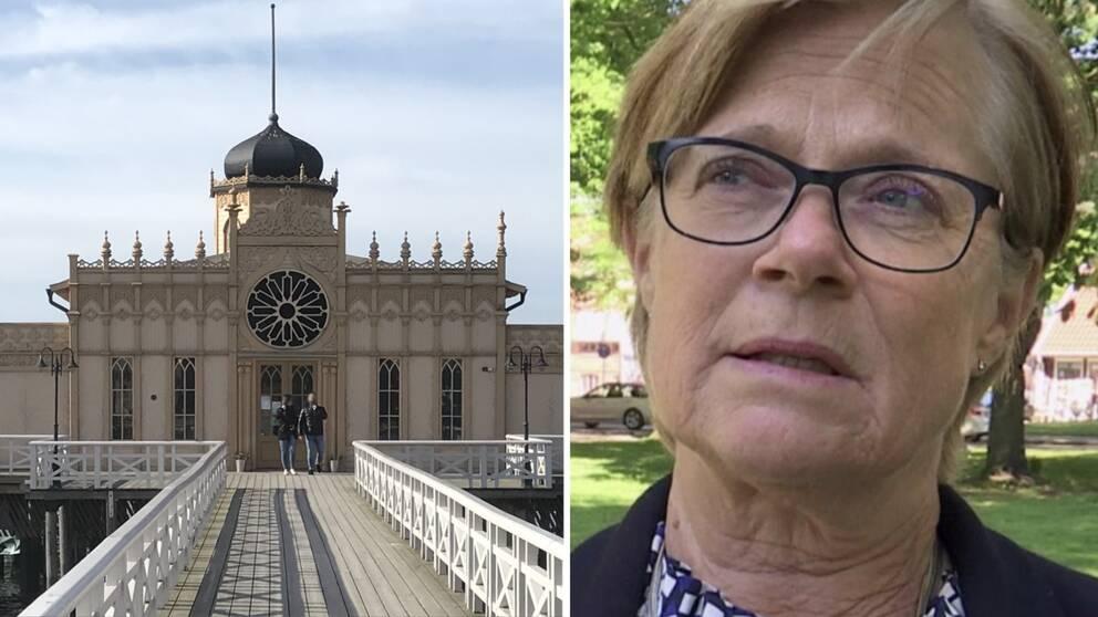 Kommunstyrelsens ordförande i Varberg, Ann-Charlotte Stenkil (M), är en av dem som står bakom det öppna brevet.