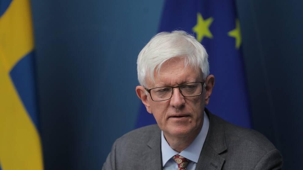 Folkhälsomyndighetens generaldirektör Johan Carlson.