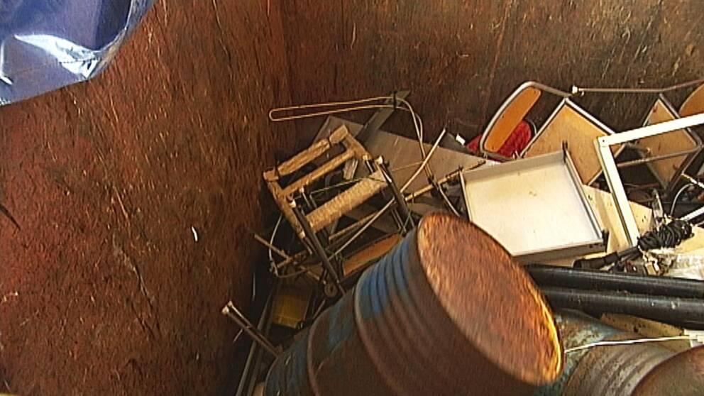 Stölder ökar på återvinningscentraler