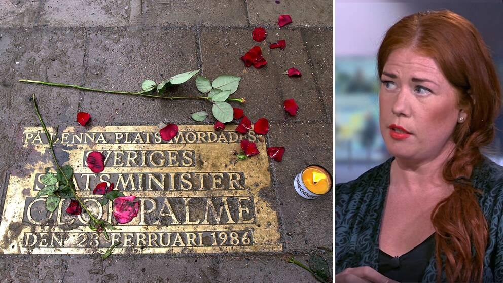 SVT:s redaktör Jenny Küttim kommenterar Palmebeskedet