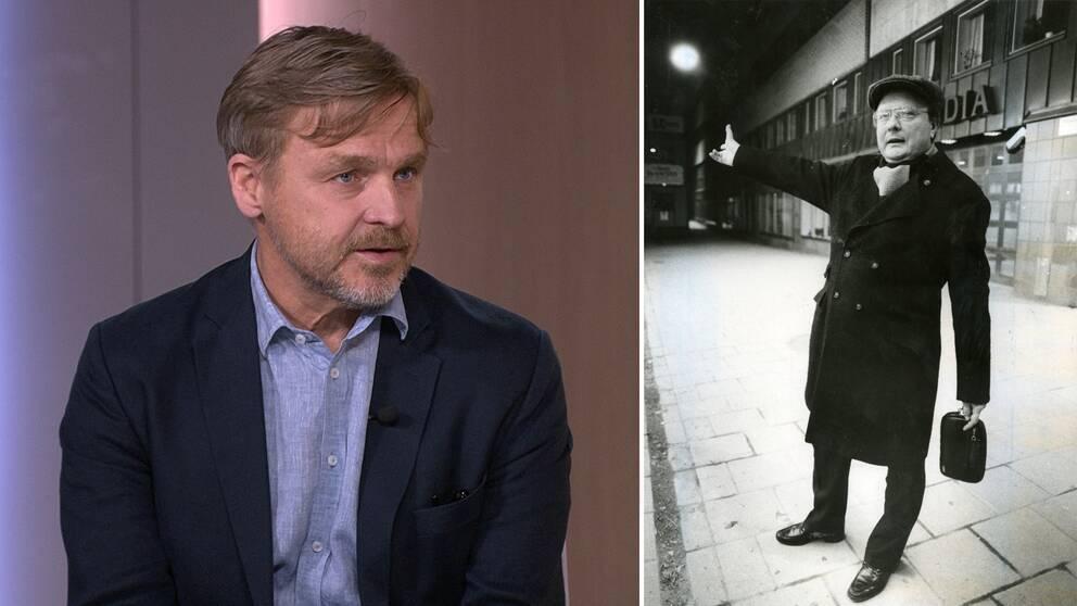 """""""Det här kommer inte bli en slutpunkt för diskussion och granskning"""", säger Joakim Palme i SVT:s Morgonstudion."""