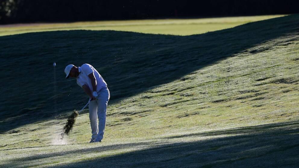 Alex Norén på PGA-tävlingen Charles Schwab Challenge i Fort Worth.