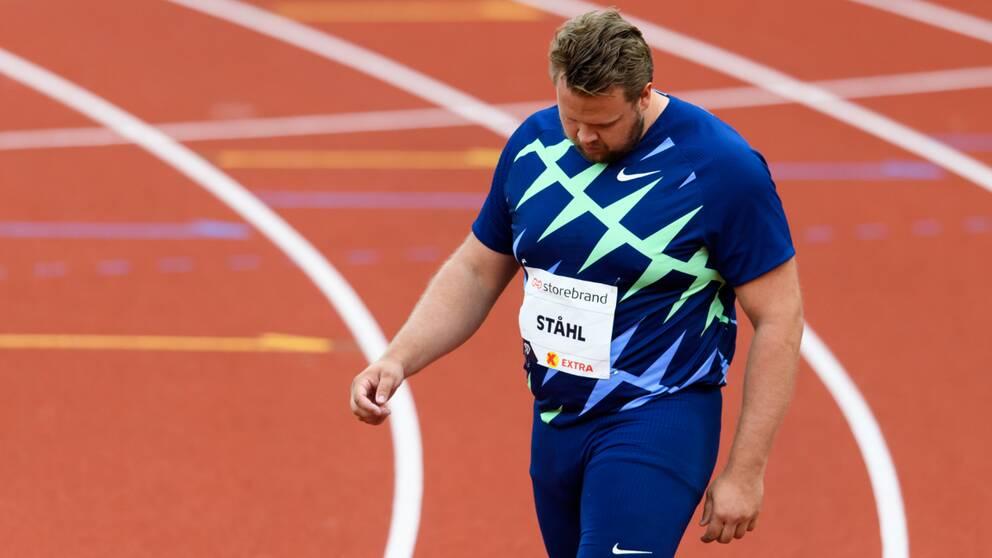 Daniel Ståhl på Bislett games.
