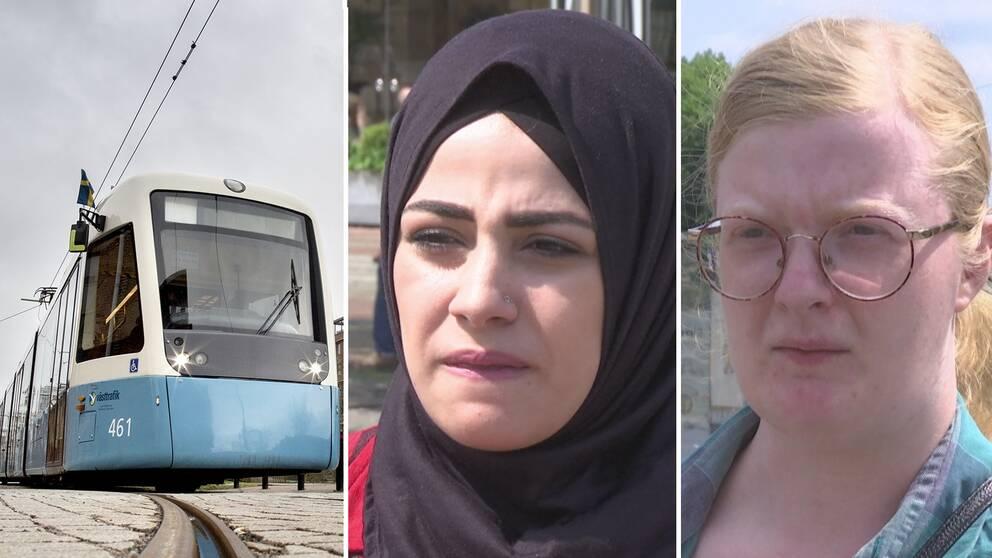 Resenärer åker kollektivt – trots uppmaningen