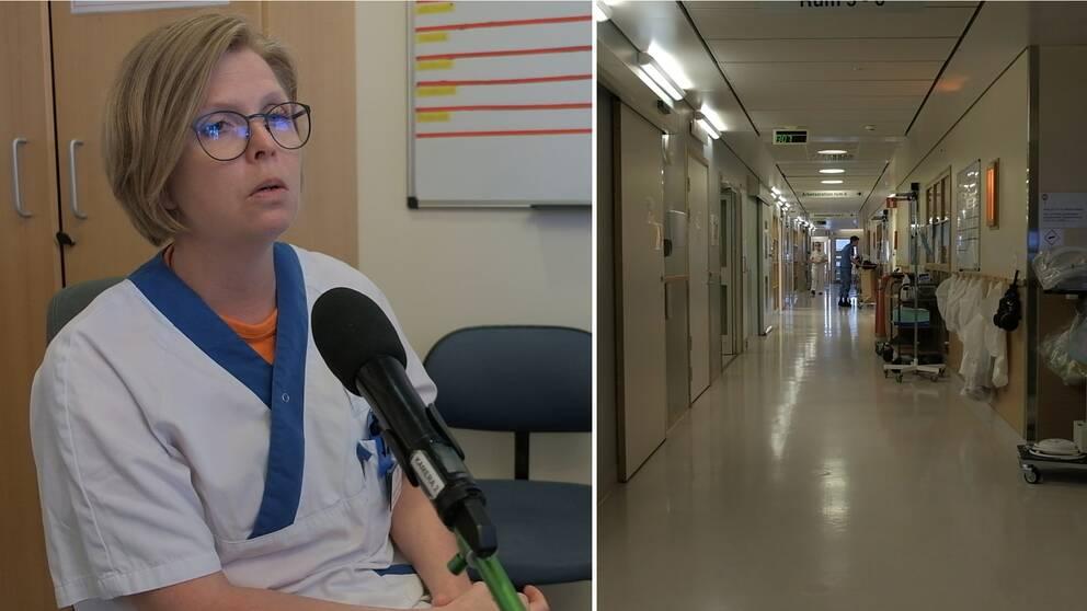 Hör Erika Marjamaa Nilsson, avdelningschef på centralintensiven, berätta mer om hur patienter kan bli påverkade efter behandling mot corona.