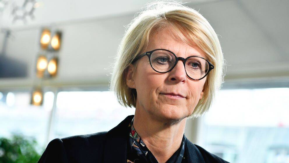 Moderaternas ekonomiske talesperson Elisabeth Svantesson.