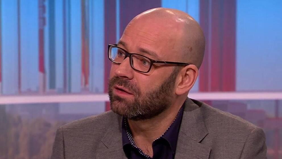 Stefan Blomberg, psykolog på arbets- och miljömedicin i Linköping.