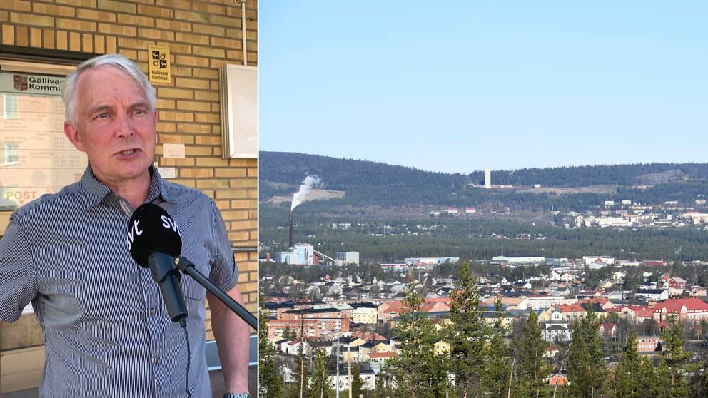 Stefan Nieminen, kommunikationsansvarig vid krisledningsgruppen i Gällivare kommun, berättar om krisläget i kommunen med anledning av Covid-19.
