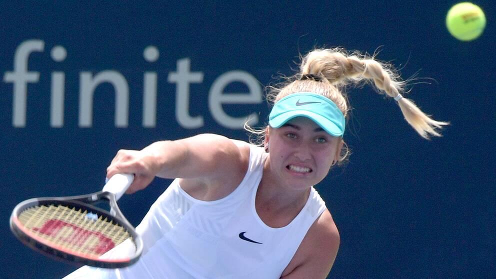 Tennisspelaren Gabriela Dabrowski har synpunkter på hur US Open ska arrangeras.