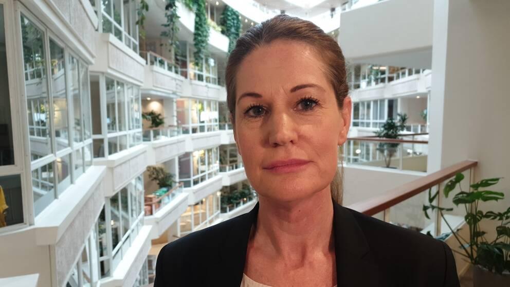 SKRkan inte garantera attuppskjuten semester kan tas uti september.  – Det bygger på vart pandemintar vägen, sägerJeanette Hedberg, biträdande förhandlingschef på SKR.