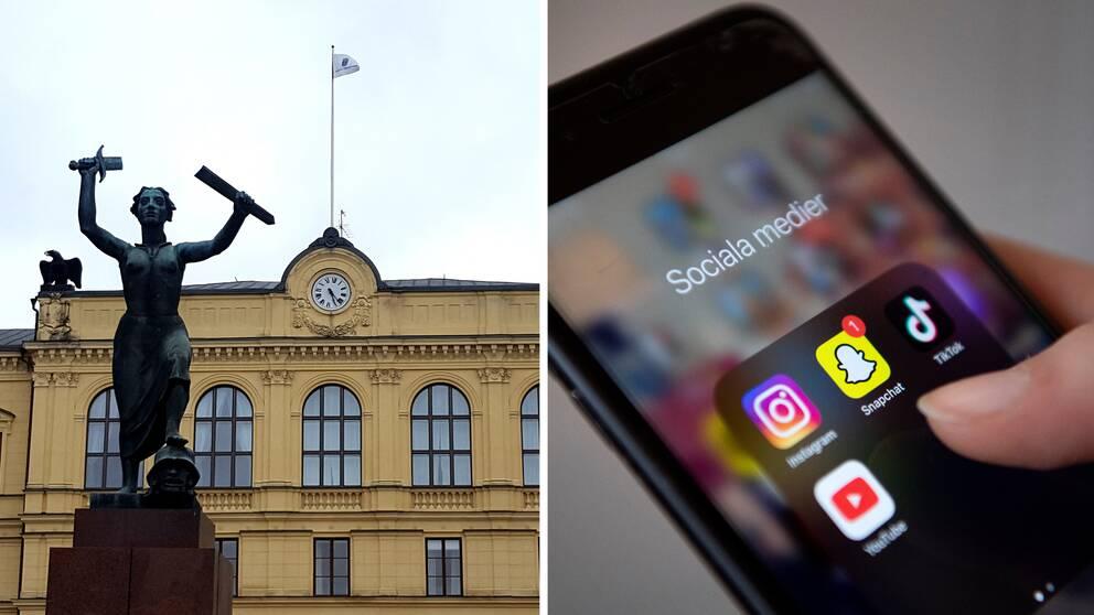 Värmlands tingsrätt sociala medier