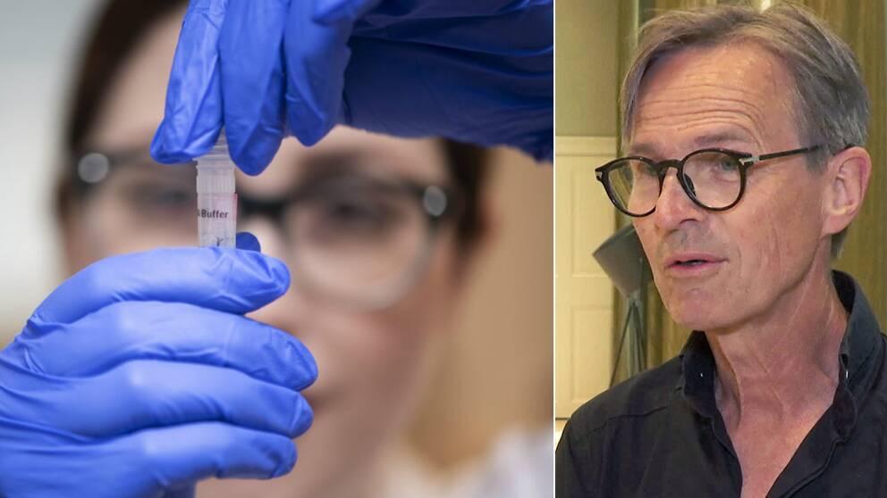 Magnus Lindh, sektionschef för klinisk mikrobiologi på Sahlgrenska universitetssjukhuset
