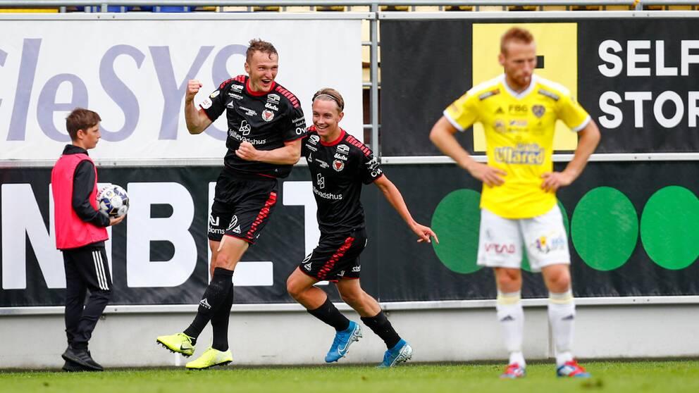 Kalmar FF:s Piotr Johansson.
