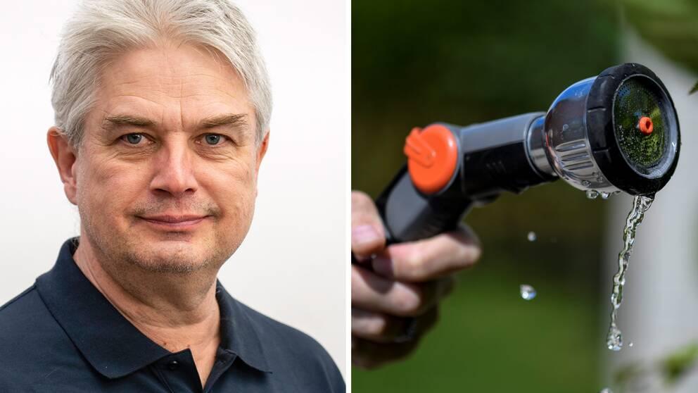 Bo Thunholm, grundvattenexpert på SGU.