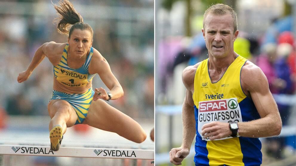 Ludmila Engquist och Andreas Gustafsson.