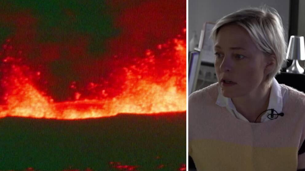 Ett utbrott på Island i närtid skulle stämma sett till historien, enligt seismologen Kristín Jónsdottir