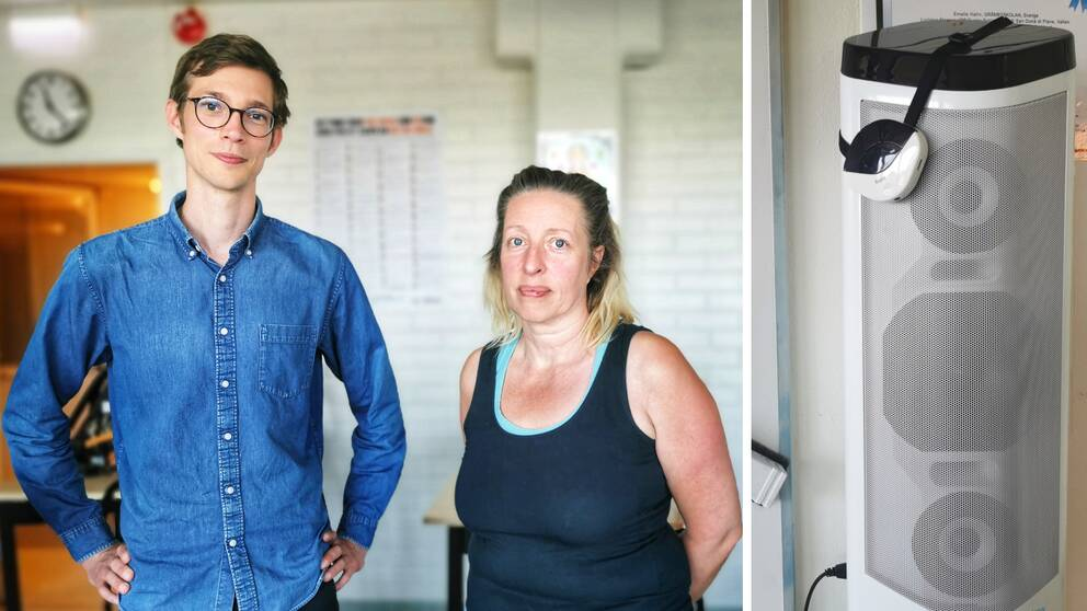 Jakob Hansson, Johanna Kylin, hörselpedagog