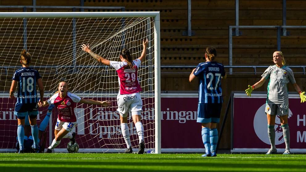 Beata Olsson fixade historisk seger för Uppsala