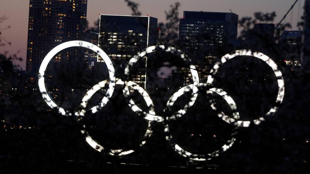 Bild från Tokyo inför OS2021