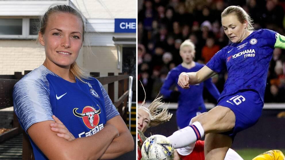 Magdalena Eriksson i Chelsea.