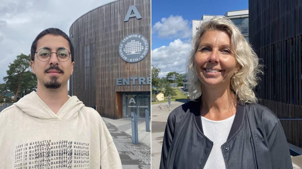 Blekinge studentkår, Arian Watti, kårordförande, Karlskrona kommun, Kristina Stark, BTH, Gräsvik