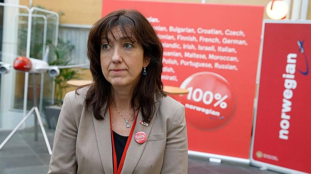 Norwegians kommunikationsdirektör Anne-Sissel Skånvik.