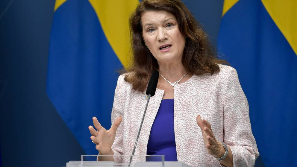 Utrikesminister Ann Linde (S).