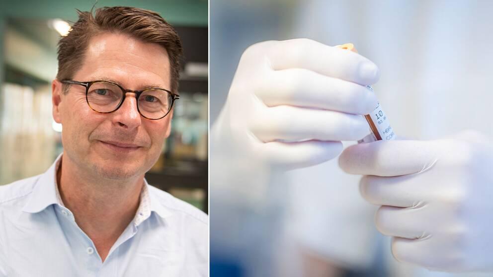 Hans-Gustaf Ljunggren, professor i infektionsmedicin, det kan finnas covidsmittade som inte utvecklar antikroppar men ändå kan ha ett visst skydd mot sjukdomen.