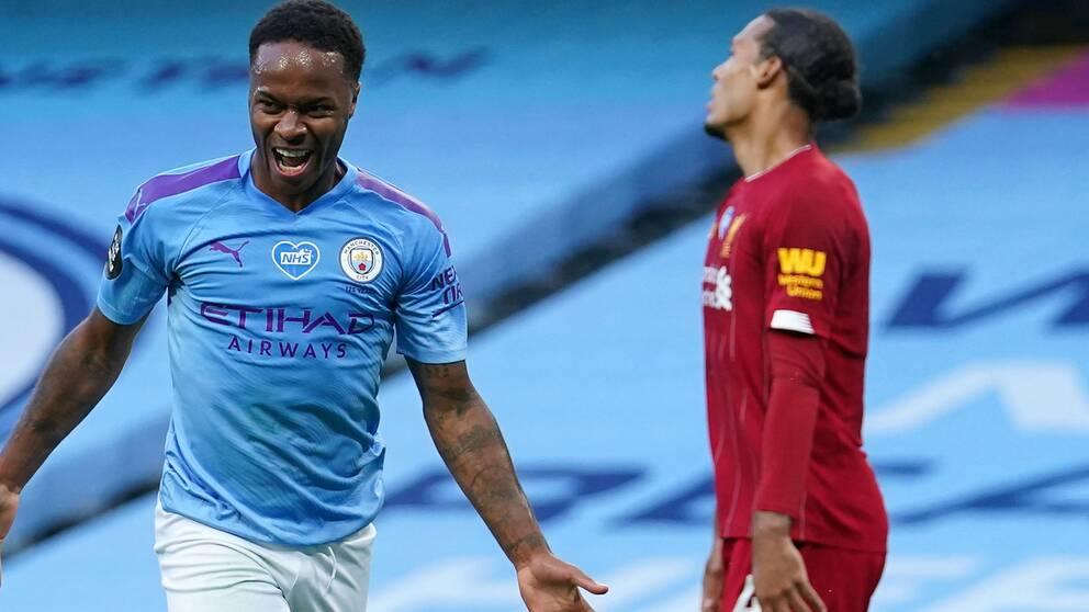 Raheem Sterlings Manchester City utklassade Liverpool.