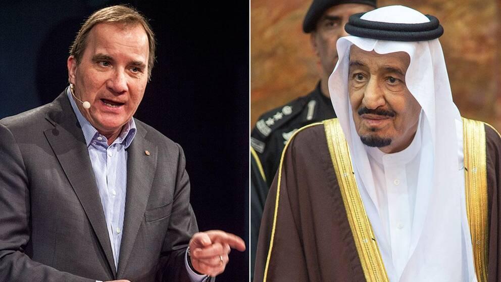 Lofven bekraftar saudiavtalet forlangs inte