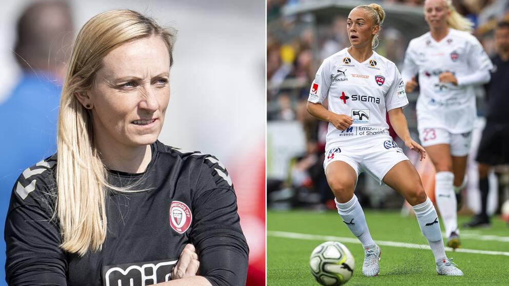 Elisabet Gunnarsdottir och Hanna Bennison.