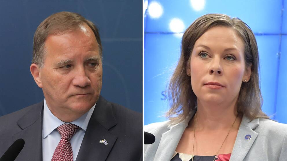 Stefan Löfven och Maria Malmer Stenergard.