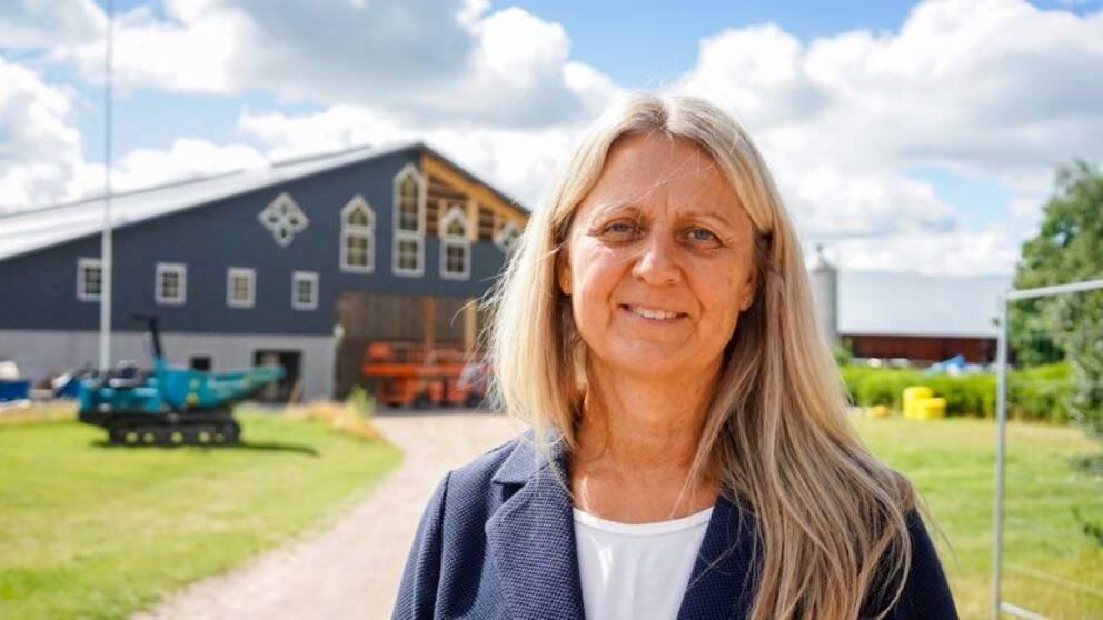 Eva-Lena Klofsten, rektor Vreta utbildningscentrum.
