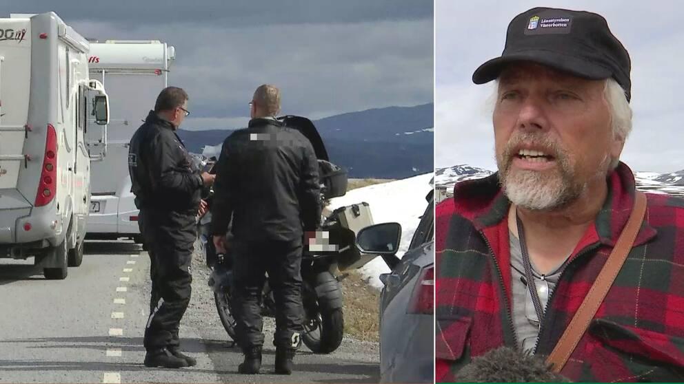 Hör naturbevakare Håkan Berglund vid länsstyrelsen i Jämtland larma om anstormningen av turister kring Stekenjokk, vilket skapar allvarliga störningar för rennäringen.