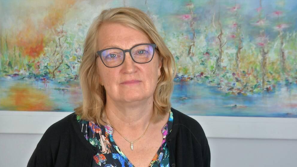Gunilla Druve Jansson (C), ordförande i omsorgsnämnden i Skara.
