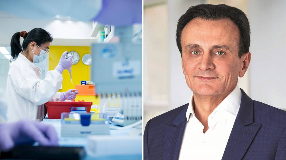 – Vi måste invänta resultaten från de större kliniska studierna för att kunna visa att vaccinet skyddar mot infektion, men jag kan redan nu säga att jag är säker på resultaten, säger Pascal Soriot som är vd på Astra Zeneca.