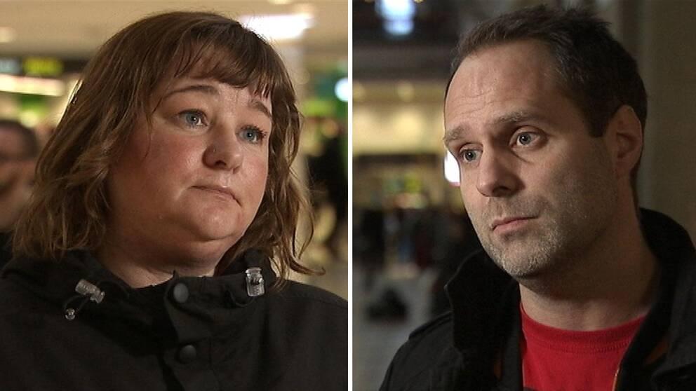 Socialarbetaren Malin Andersson och Jonas Henriksson, Citypolisen i Stockholms prostitutionsgrupp, berättar om samarbetet mot sexhandeln.
