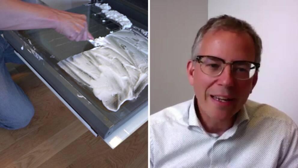 Hör Ulf Ellervik, professor i kemi, förklara varför det fungerar att städa med bikarbonat och ättika.