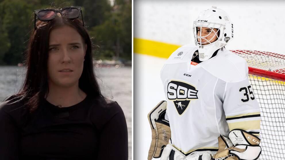 Efter kritiken – Sofia Reideborn tar paus från hockeyn.