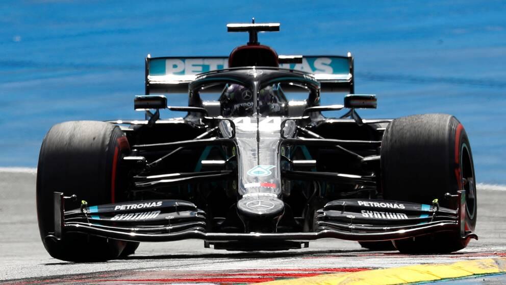 Lewis Hamilton under Österrikiska Red Bull Ring