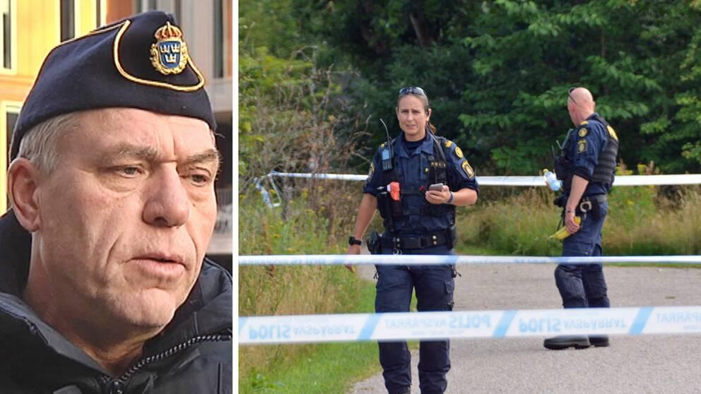 Polisens presstalesperson Hans Lippens vädjar nu allmänheten om tips efter den misstänkta attacken mot en äldre kvinna i Falkenberg.