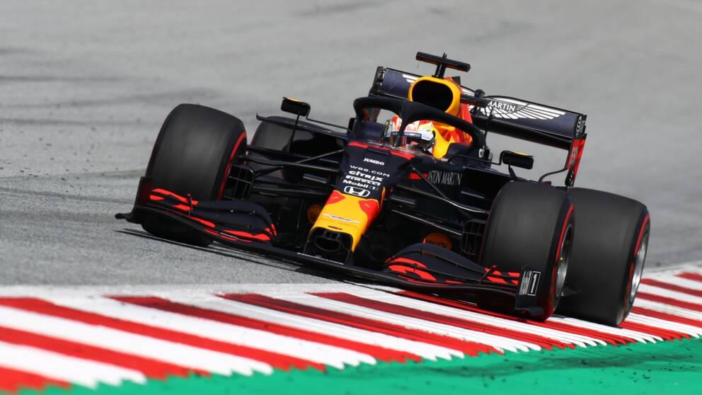 Max Verstappen under Österrikes Grand Prix 12 juli