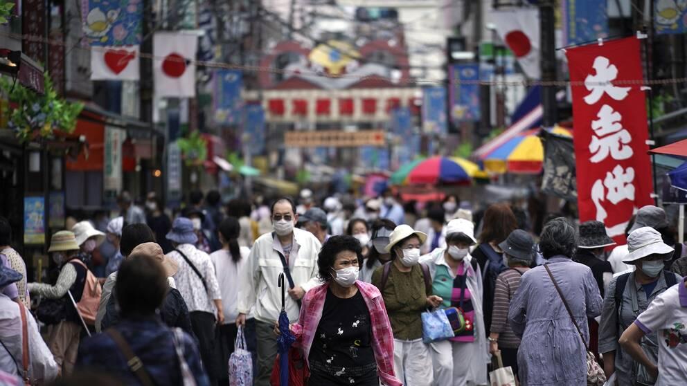 Tokyoområdet, Stortokyo, är med sina 35,7 miljoner invånare världens folkrikaste storstadsområde.