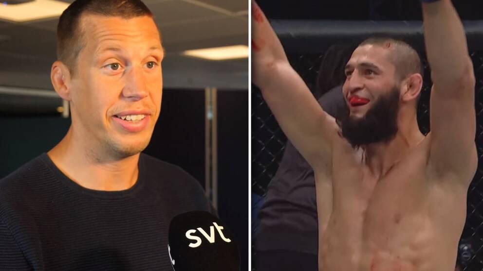 """Viaplays MMA-expert Magnus """"Jycken"""" Cedenblad tror att Khamzat Chimaev kan vinna en UFC-titel."""