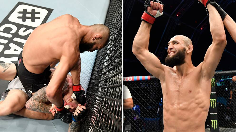 Khamzat Chimaev har på bara tio dagar tagit två segrar i UFC och hyllas nu stort i MMA-världen.