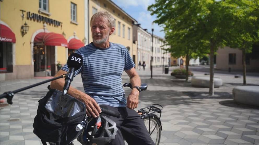Anders Olofsson, sammankallande på Cykelfrämjandet Södertälje
