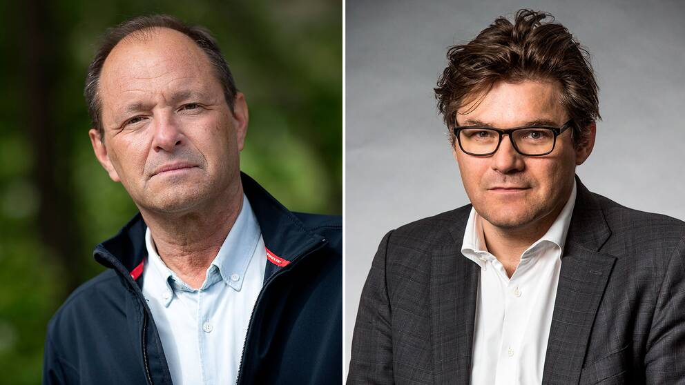 Björn Olsen och Jan Helin