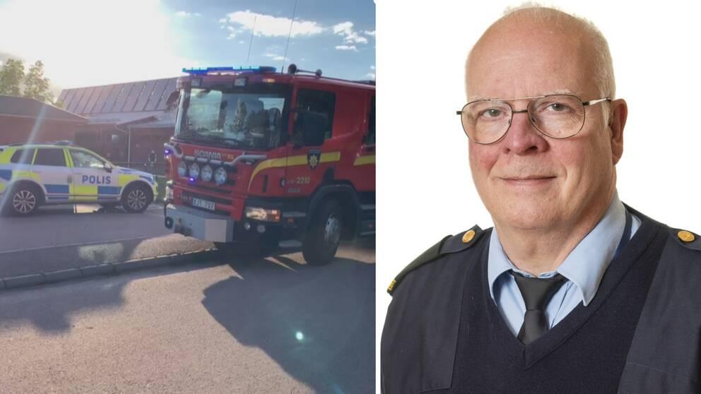 Polisen misstänker att både branden i Kil och i Arvika är anlagda.