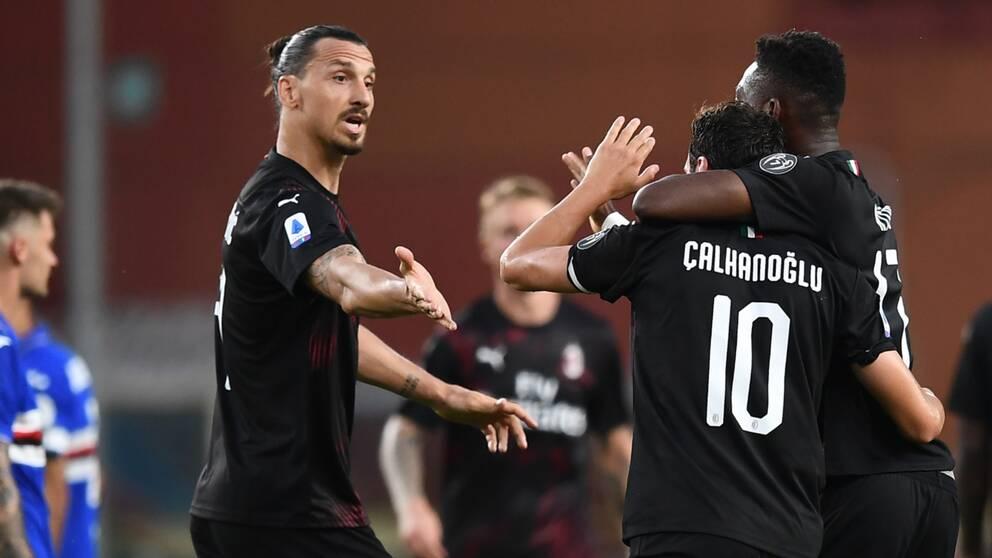 Zlatan historisk efter showen mot Sampdoria.